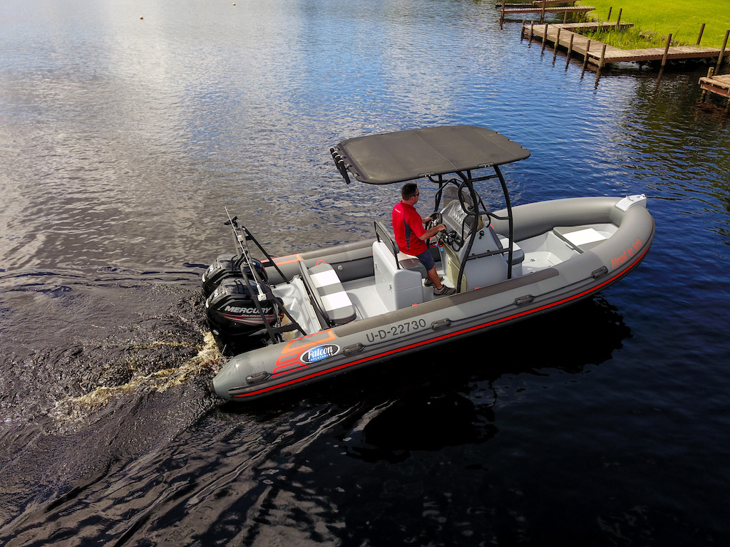 Falcon 650 rigid inflatable boat - Falcon Inflatables